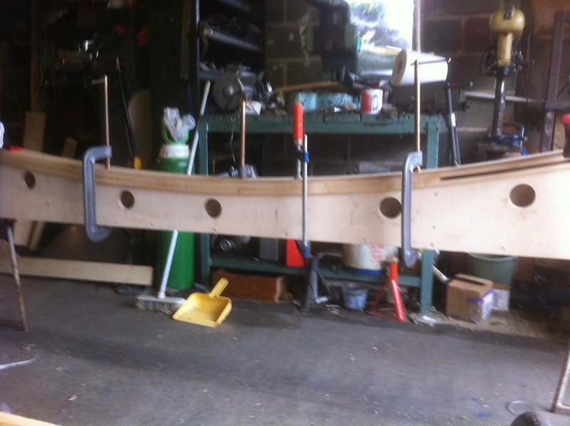 Glulam beam for jappic chassis