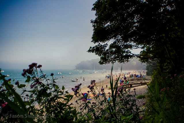 Endless Possibilities. Sea Fog rolling in at Priory Bay  #3 of 4