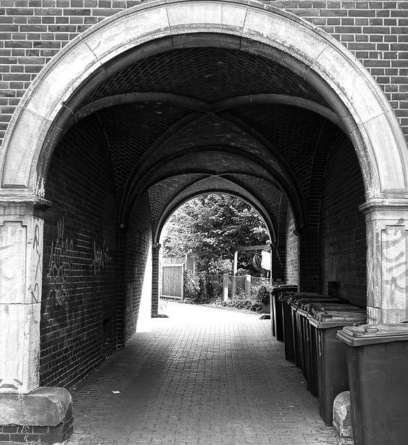 Hausdurchgang in Münsters Kreuzviertel