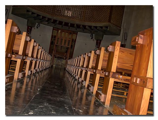 Interior de la  Iglesia de la Virgen del Loreto...
