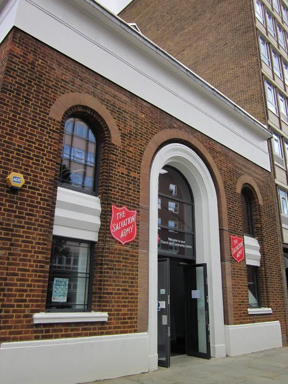 Ilford Salvation Army, Greater London (Suzy Minett 2014)