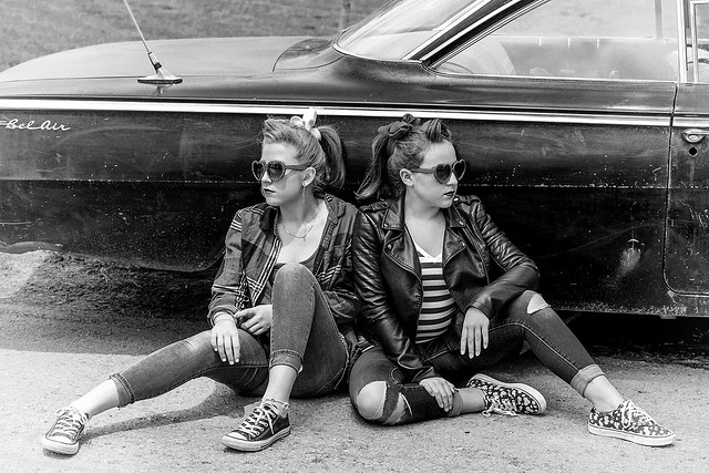Two Girls and a Belair