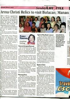 Arma Christi on Inquirer