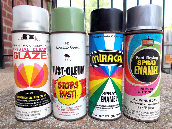 More Vintage Spray Paint Cans 60's 70's 80's | Gregg Koenig | Flickr