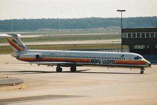 _0007 Frankfurt D-ALLO MD-83 ----  Aero Lloyd | by e_j_johnston