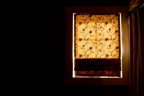 morning sunlight window backlight romanblind ourdailychallenge