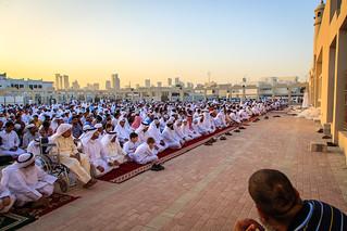 Congregating on Eid | by Omar Chatriwala