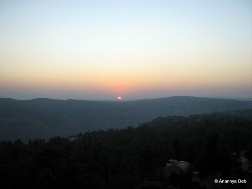 sunset westernghats