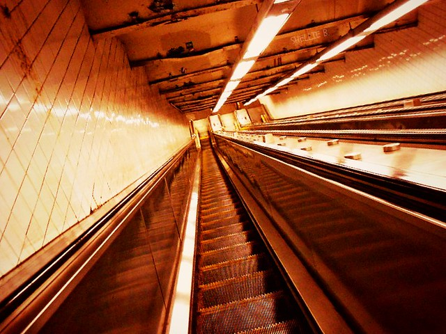 The Escalator to Hell or to the