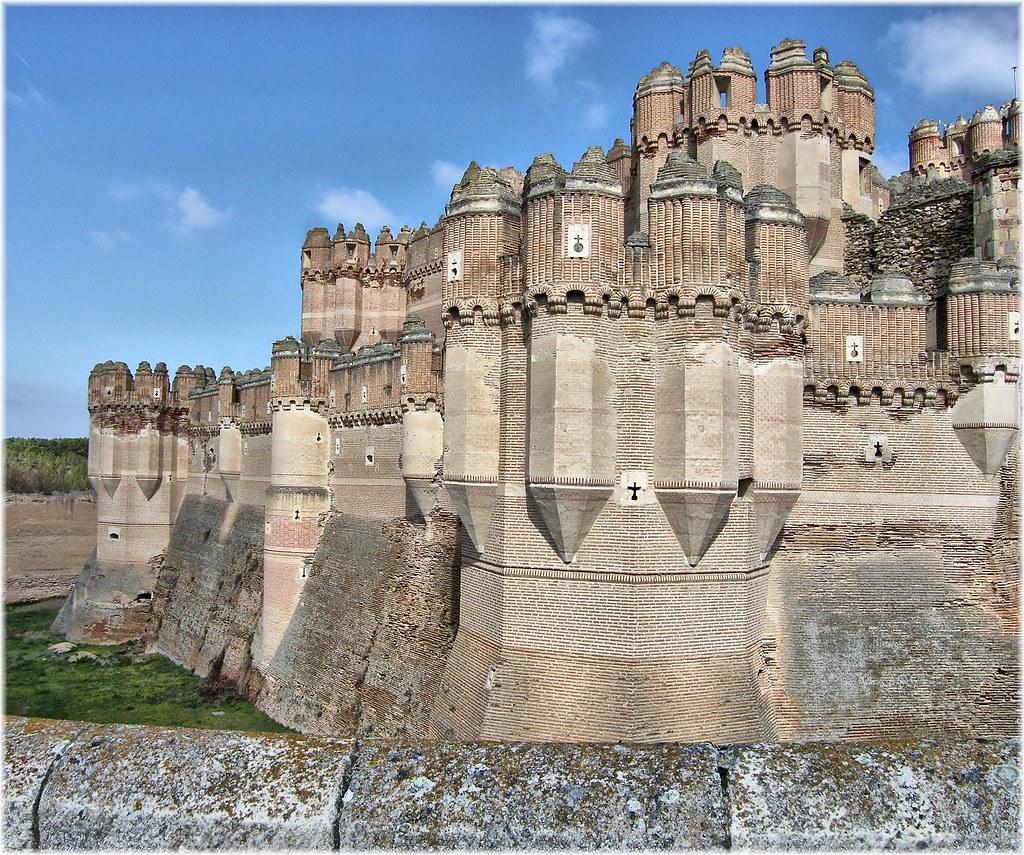 2631 Castillo Mudejar De Coca Segovia El Castillo De