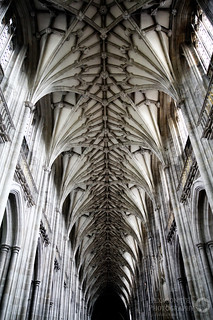 Winchester Cathedral Aisle Roof | by Hexagoneye Photography
