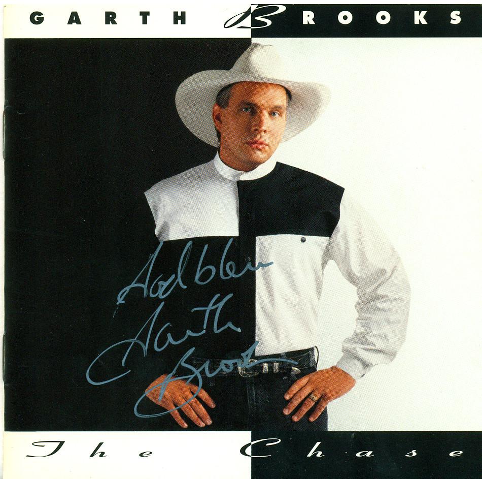 Garth Brooks - The Chase - Autographed CD Jacket | Joe