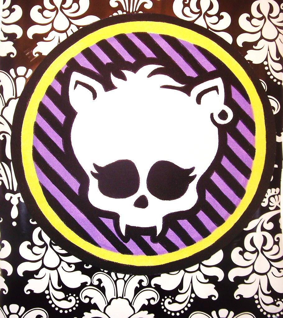 Monster High Doll Wallpaper Art Sricker Mural Handmade Roo Flickr