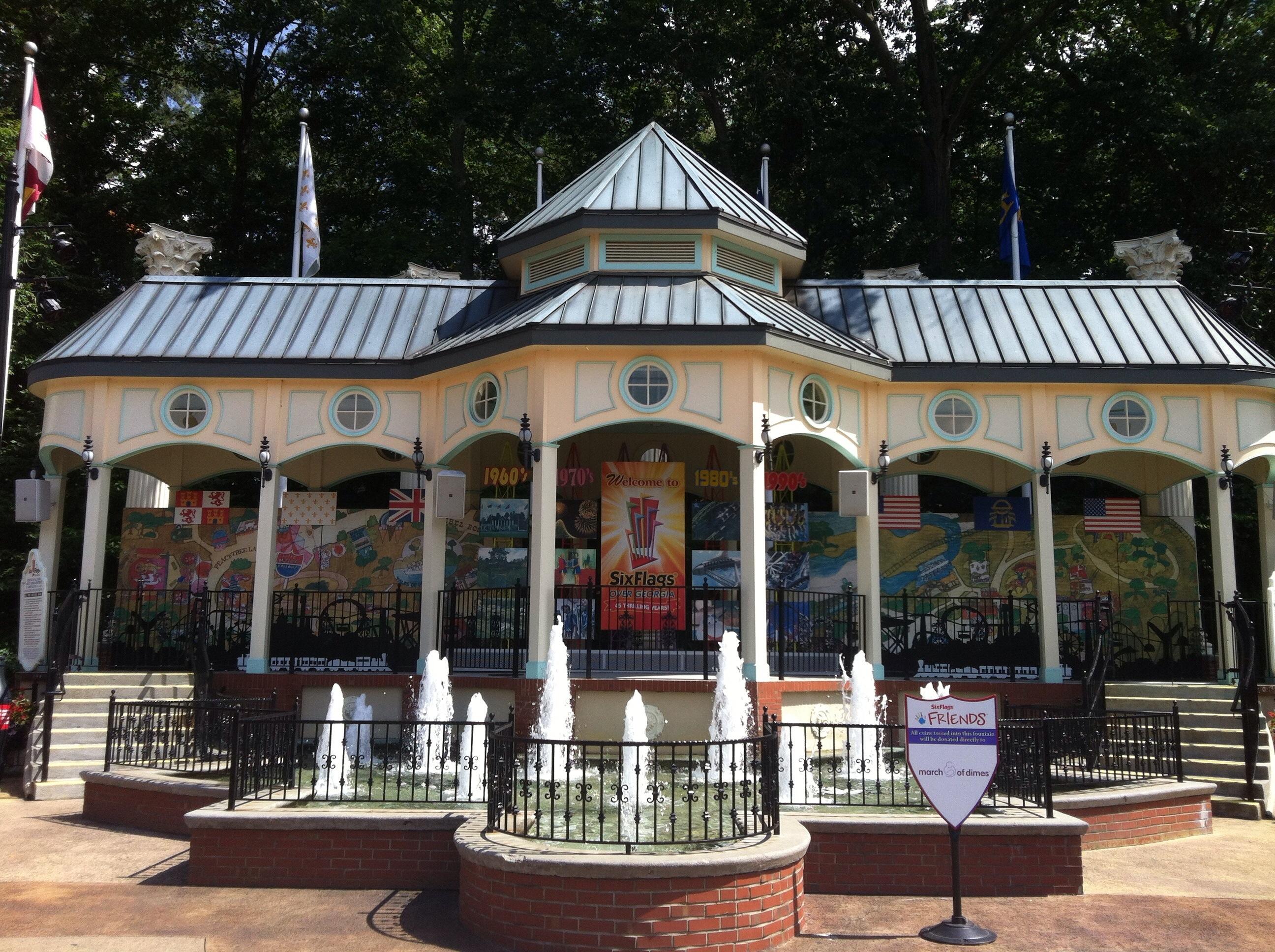 Six Flags over Georgia 2012