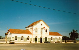 Lagos, Portugal, station Oct. 1986