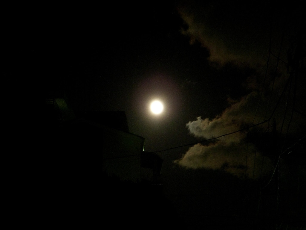 今日 は 満月 です か