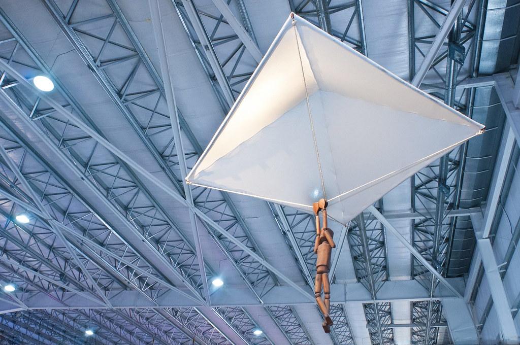 Inventos De Leonardo Da Vinci Paracaídas Pabellón De Mate Flickr