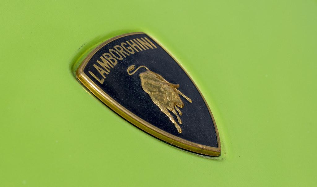 Lamborghini Logo Italian Car Show At Hopetoun House West Flickr