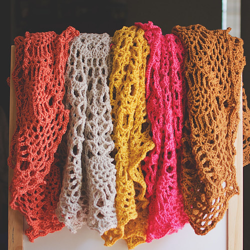 just some doily blankets   by Lisa   goodknits