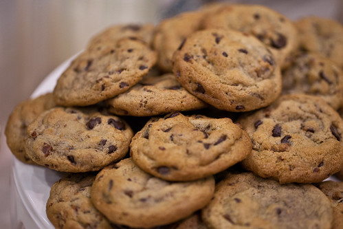 Bakin and Eggs - bacon chocolate chip cookies   by opacity