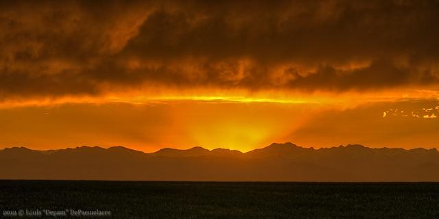 Cinco De Mayo Sunset - Aurora, CO