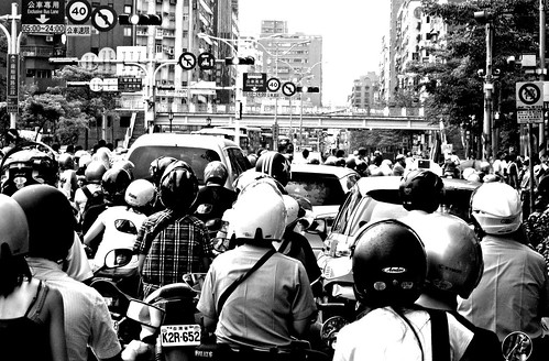 Taipei Motorist | by David H. Chu
