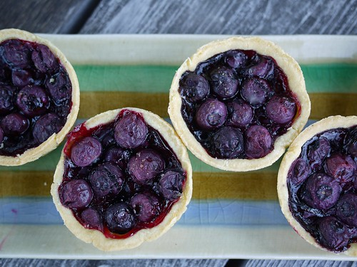Mini blueberry pies | by grongar