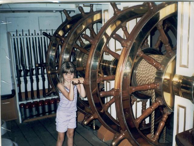Chloe. HMS Warrior