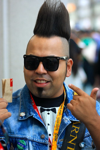 San Diego Comic-Con International 2012: Mohawk man | by kevin dooley