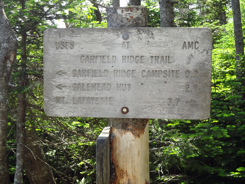 Garfield Trail Sign