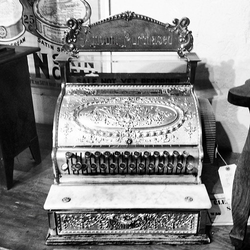 1908 cash register | by sarahwulfeck