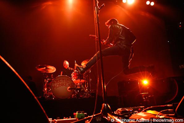 Arctic Monkeys @ Madison Square Garden, NYC 3/22/12