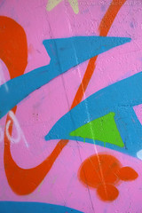 Pink Orange Blue And Green