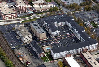 Wyomissing Square Mixed-Use Center Aerial Photo (VF Outlet Center) | by The Promenade at Wyomissing Square