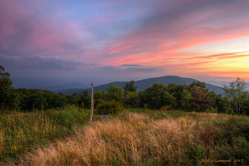 sunset mountain field landscape photography evening virginia hiking sony wideangle august backpacking grasses summertime mountainview hdr goldenhour blueridge alpenglow appalachiantrail appalachians balds coldmountain ziess southernbalds colemountain sonya580