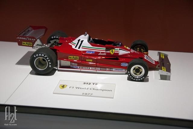 Ferrari 312-T2, diecast