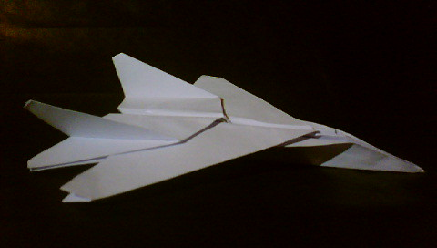 EASY F-15 Paper Airplane! How to make an Amazing Paper Jet ... | 272x480