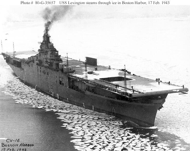 USS Lexington CV-16