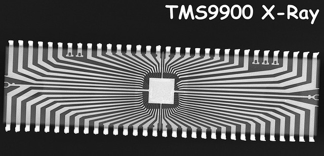TMS9900 X-Ray
