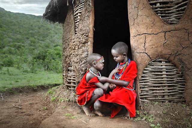 Two Masai Boys