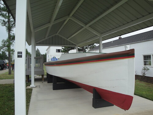 Outdoor Boat Exhibit, Piney Point Lighthouse Musem, Piney Point