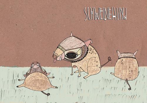 schweinehund | by ju.hu.