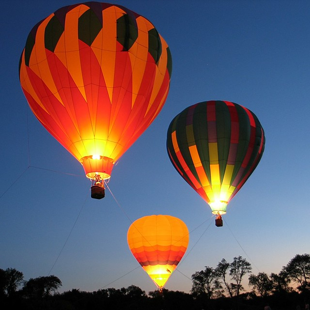 2012 South County (Wakefield Rotary) Balloon Festival (RI)...