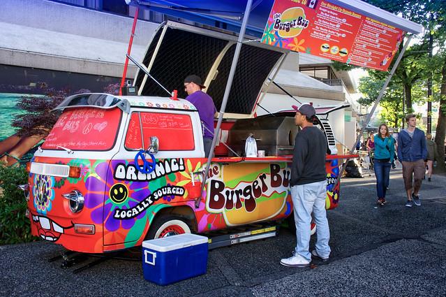Groovy Burger Bus