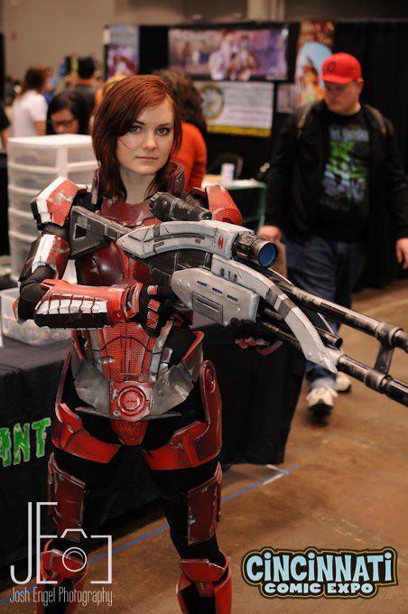 Cosplay Paradise Female Commander Shepard Mass Effect 3
