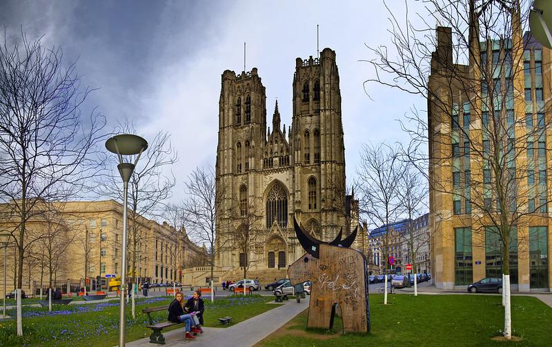 Catedral de San Miguel y Santa Gúdula, Brussels (B)