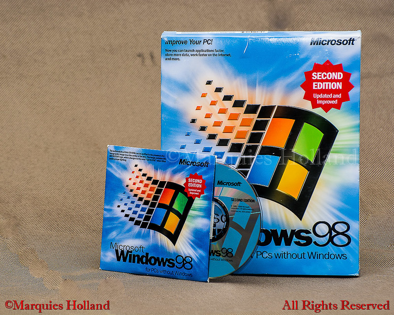 Windows 98 Second Edition | Here is a Microsoft Windows 98 S