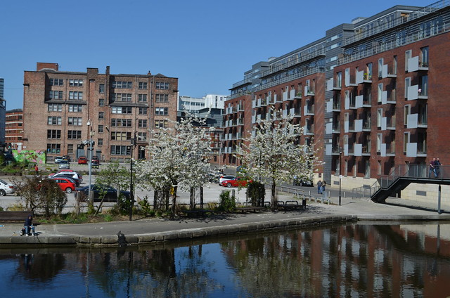 PICCADILLY BASIN, NORTHERN QUARTER, MANCHESTER