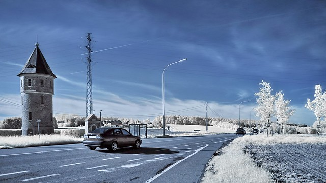 On the road - ir