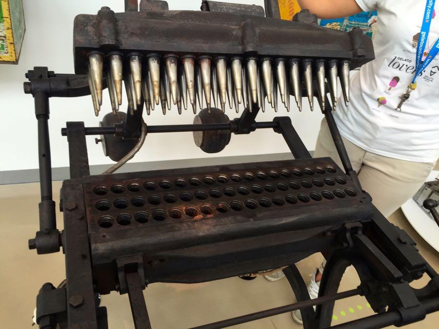 Gelato Cone Machine
